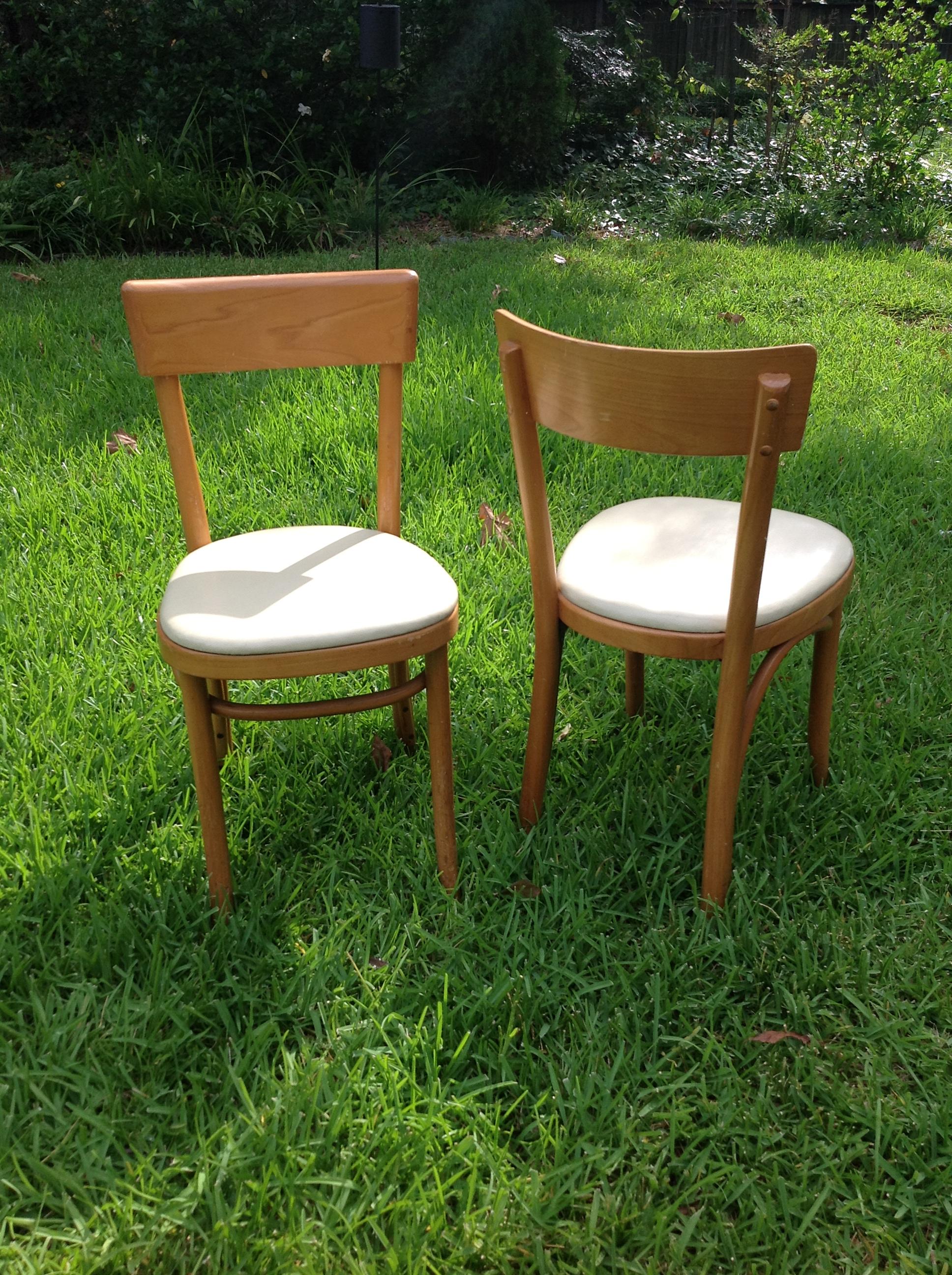 Design Samaritan Thonet Chairs Pair